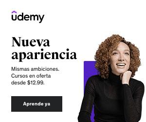 Promoción Udemy Nuevo Look. Nuevas ambiciones