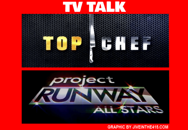 TV Talk image of Top Chef and Project Runway All Star Logos