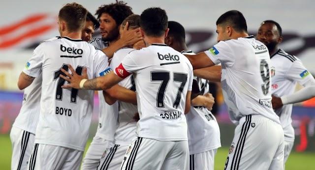 Beşiktaş üçüncülük iddiasını sürdürdü
