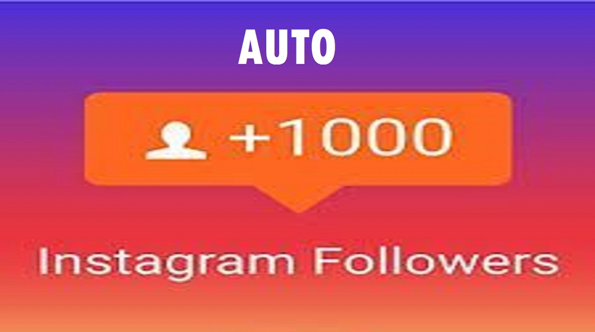 Auto Followers IG 1000