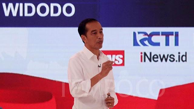 Jokowi Ralat Ucapannya soal Kebakaran Hutan di Debat Capres
