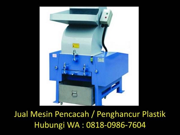 daftar perusahaan mesin pencacah plastik penggiling di bandung