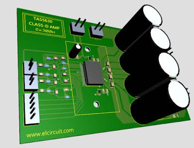 TAS5630 PCB Layout