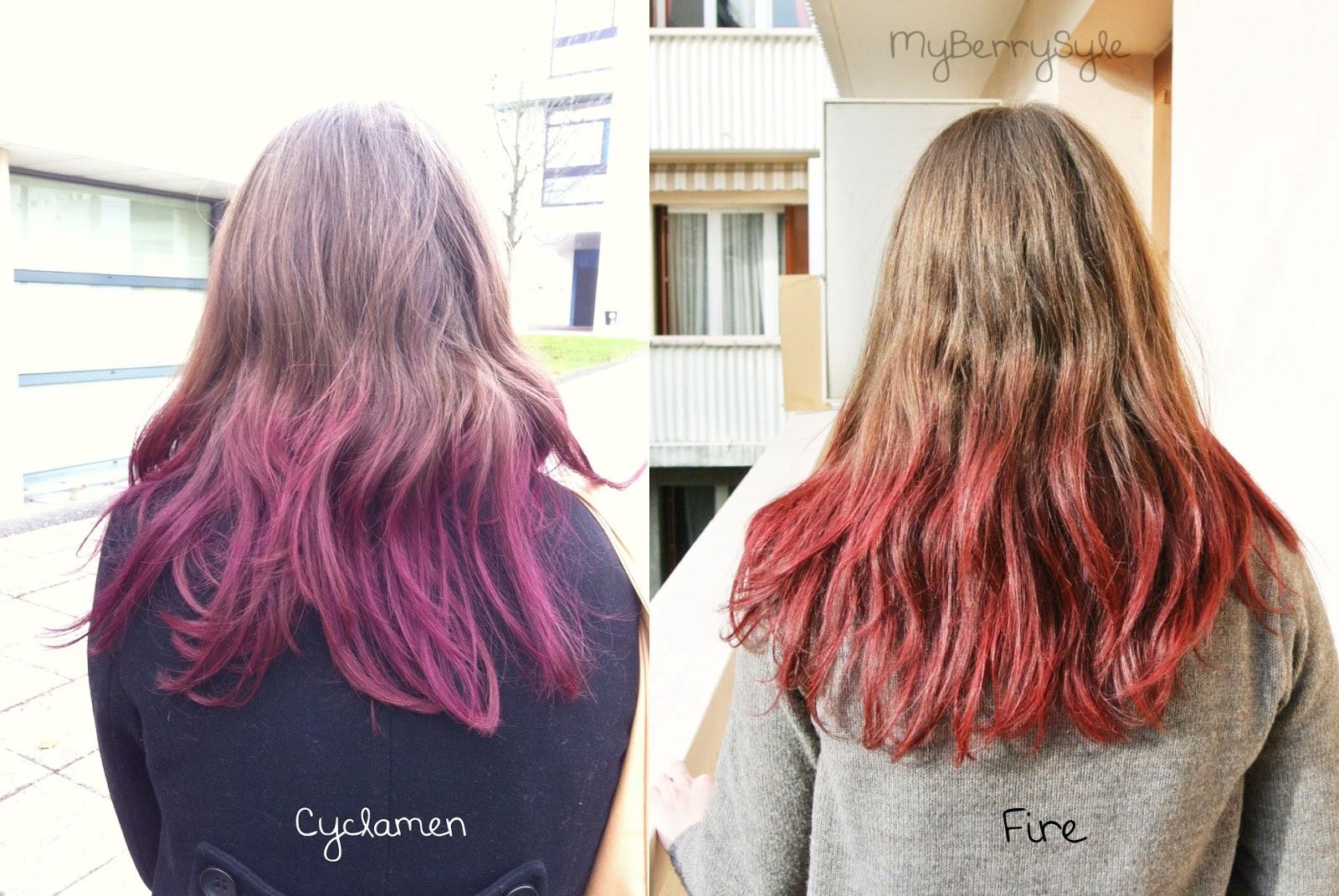 tie and dye rouge sur mes cheveux chatain fonc avec crazy color maman com te. Black Bedroom Furniture Sets. Home Design Ideas