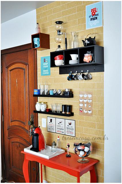 decoração cantinho café