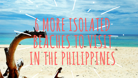 list of Secluded beaches in the Philippines