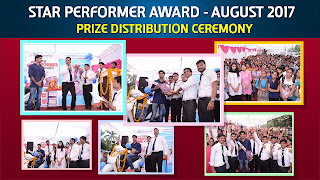 Star Performer Toppers - August 2017