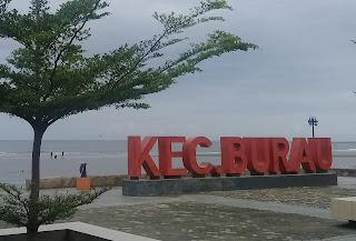 Kecamatan Burau Luwu Timur Pantai Lemo