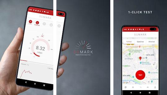 5GMARK 3G 4G 5G Speed & Quality Test + Coverage