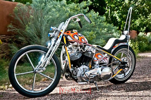 Harley Davidson By Atomic Custom Hell Kustom
