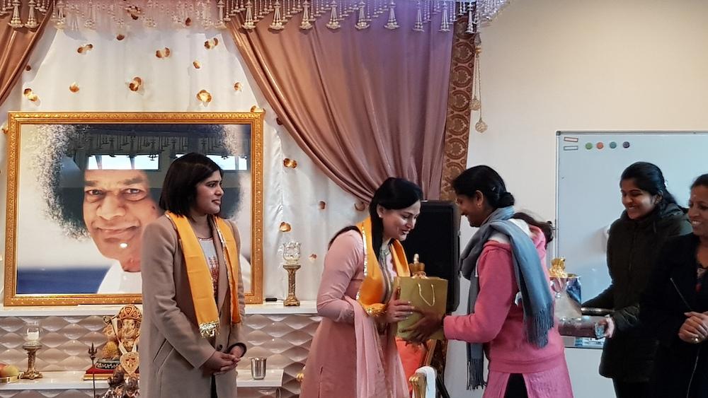 Paniniyam camp started with the spiritual Mathruka meditation conducted by Meena Arya
