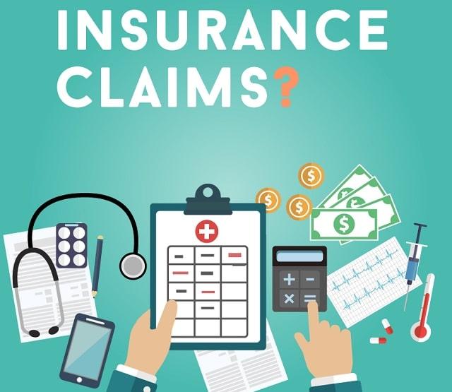 step process filing insurance claim