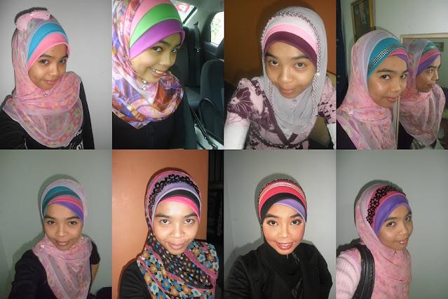 Gaya Hijab iena semasa tahun 2020 ketika berusia 25 tahun