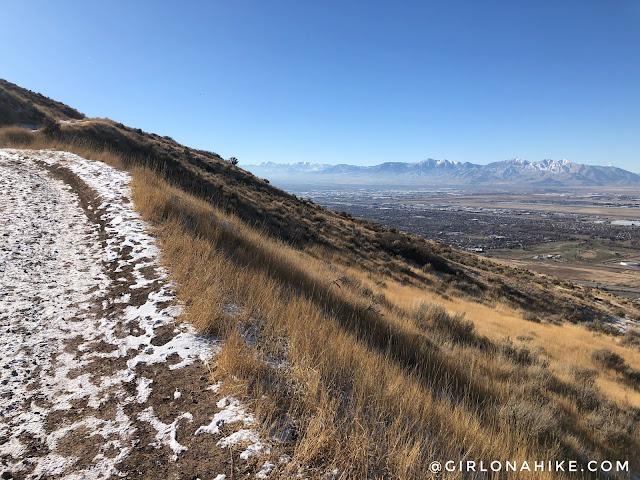 Hiking to Matt's Arch & Meridian Peak