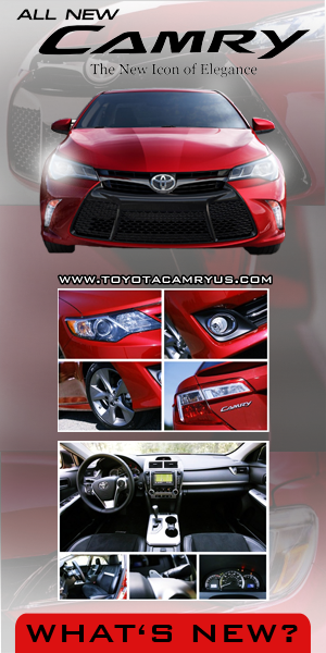 All New 2016 Toyota Camry XSE, SE, XLE, LE, Hybrid Special Edition