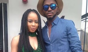 """#BBNaija2018: """"Inmate Lovebirds"""", Miracle And Nina Make Up After Bumping Into Each Other In Ghana"""