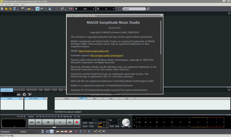 magix samplitude music studio 2017 230010 crack full