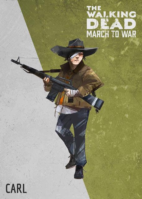 The Walking Dead: March to War - Carl