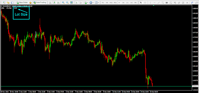 GhaniFx Lot Size Indicator