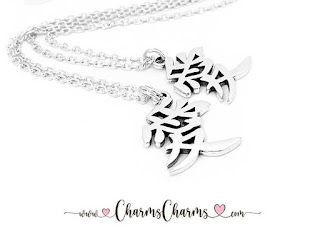 Love in Chinese - Charm Necklace