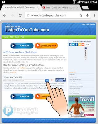 Cara Download dan Convert Video Youtube Ke MP3 di Android