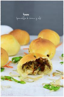 Runza casero- Receta de pan de carne relleno