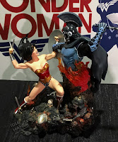San Diego Comic-Con 2016 DC Collectibles Wonder Woman vs Ares Statue