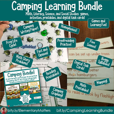 https://www.teacherspayteachers.com/Product/Camping-No-Prep-Activities-thriftythursday-1261359?utm_source=Camping%20blog%20post&utm_campaign=Camping%20Bundle