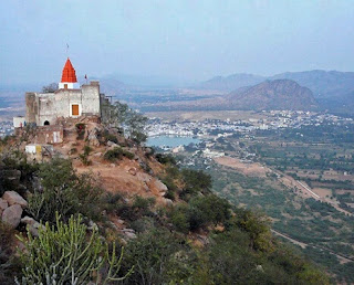 Savitri Temple wide view