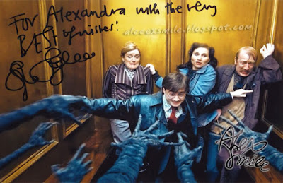 Sophie Thompson - Autograf - Autograph Harry Potter