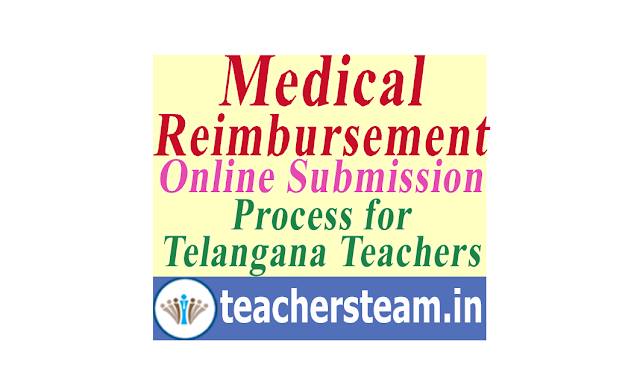 Medical Reimbursement Online Submission process in schooledu.telangana.gov.in