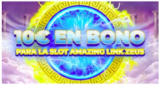 paston 10 euros gratis Slot Amazing Link Zeus hasta 14 marzo 2021