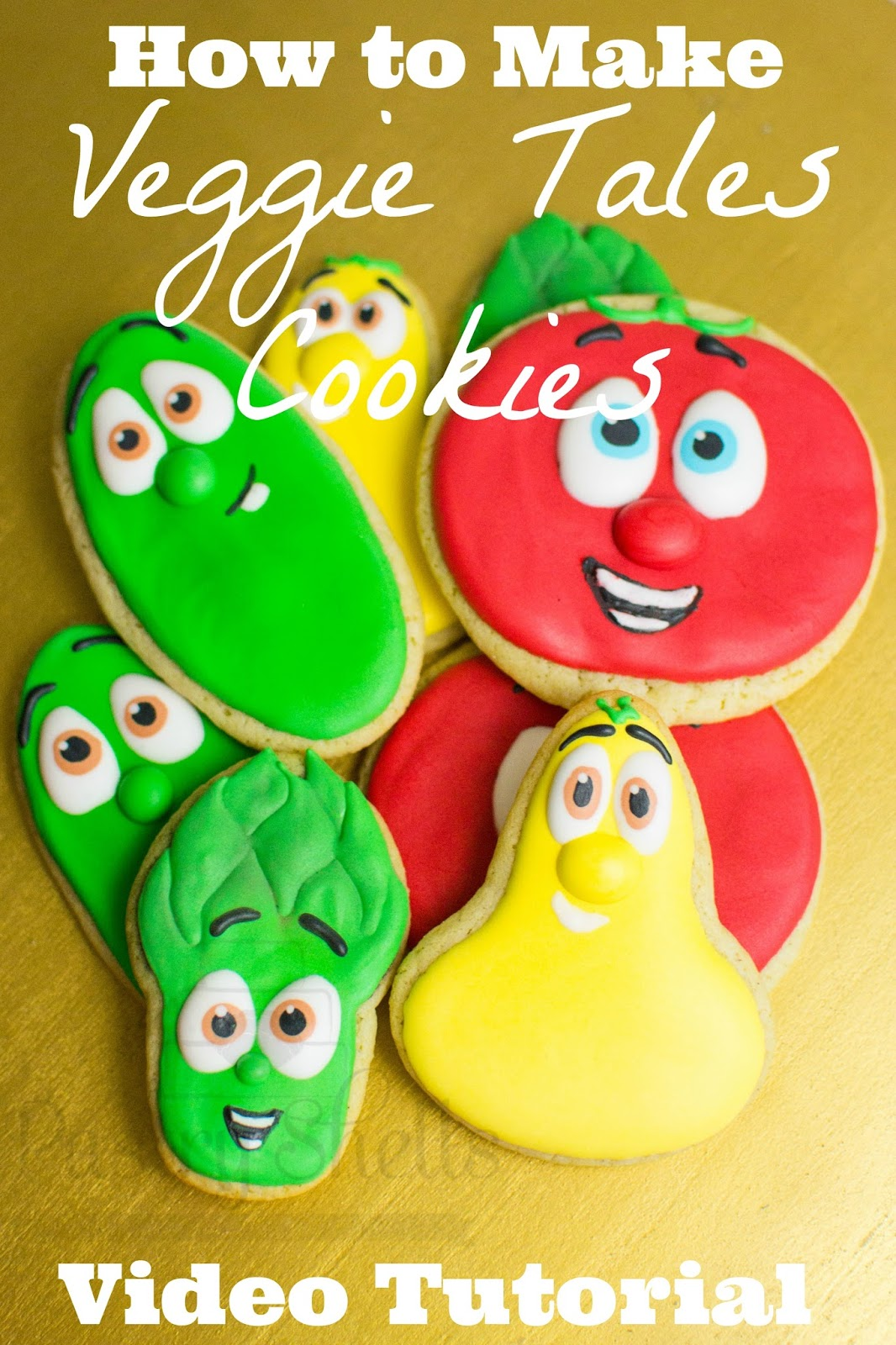 Try your hands at making these iconic characters.  This sugar cookie tutorial is made for intermediate decorators.