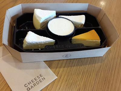Cheese Garden Cheesecakes Platter Tokyo Skytree