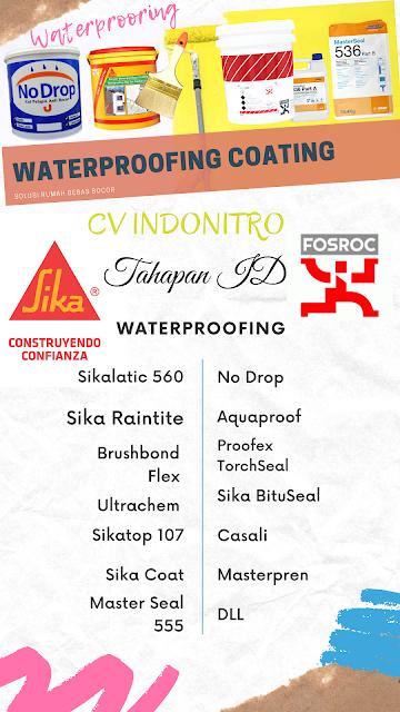 Jenis Waterproofing