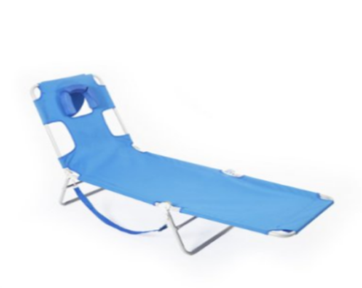 Ostrich CHS-1002B Chaise Lounge - Blue