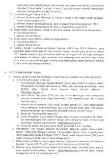 Syarat Pendaftaran CPNS Kemenkumham