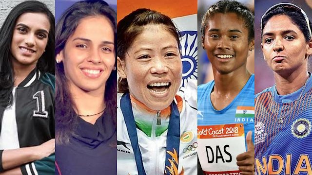 5 women's who made India Proud