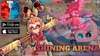 Download Shining Arena MOBA Apk Global Terbaru