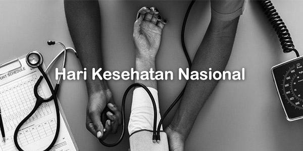Kata Kata Ucapan Selamat Hari Kesehatan Nasional