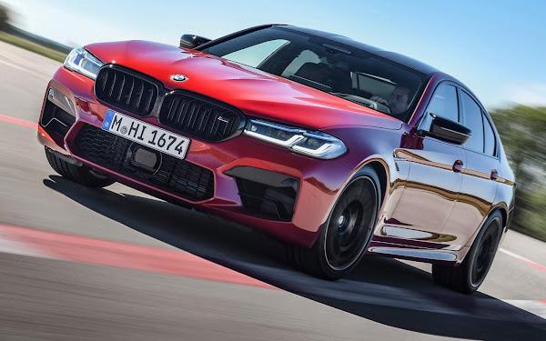 Novo BMW M5 Competition chega ao Brasil - preço R$ 1.006.950