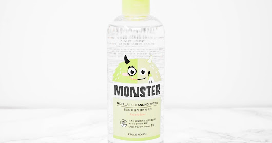 REVIEW: Etude House Monster Micellar Cleansing Water