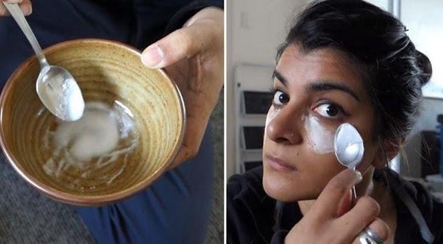 Recette de bicarbonate de soude pour se débarrasser des cernes et des poches