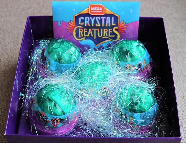 Unfolding Mega Construx™ Crystal Creatures™ Series 1 @MegaConstrux @Mattel #CrystalCreaturesSA