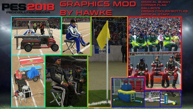 Stadium Graphics Mod PES 2018