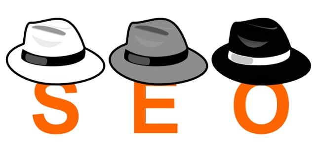 different types of seo hats search engine optimization white vs black hat