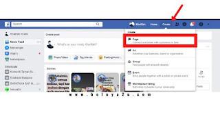 cara buat facebook perniagaan dengan pc atau laptop