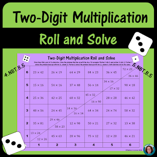 https://www.teacherspayteachers.com/Product/Two-Digit-Multiplication-Roll-and-Solve-4288709#show-price-update