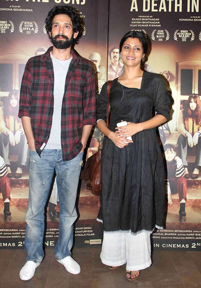 Celebs at Konkona Sen Sharma's A Death In The Gunj Screening Stills