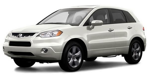 2009 Acura RDX Tech Package All Wheel Drive 4-Door, White Diamond Pearl